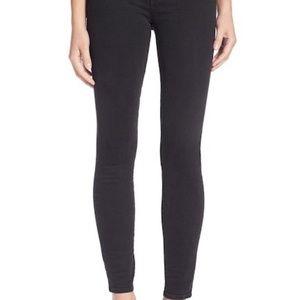 MADEWELL High Riser Skinny Jeans Black 26 EUC